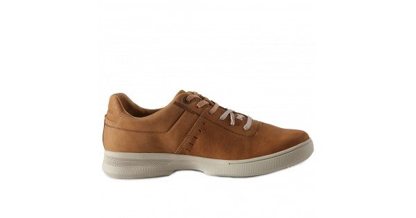 09feafdffff Ανδρικά Δετά Casual Sneakers Cat P722376 Leather Nubuck Ginger