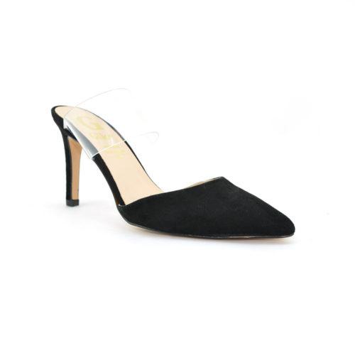 Γυναικεία Mules Giko 95038 Leather Castor  Γυναικεία Παπούτσια