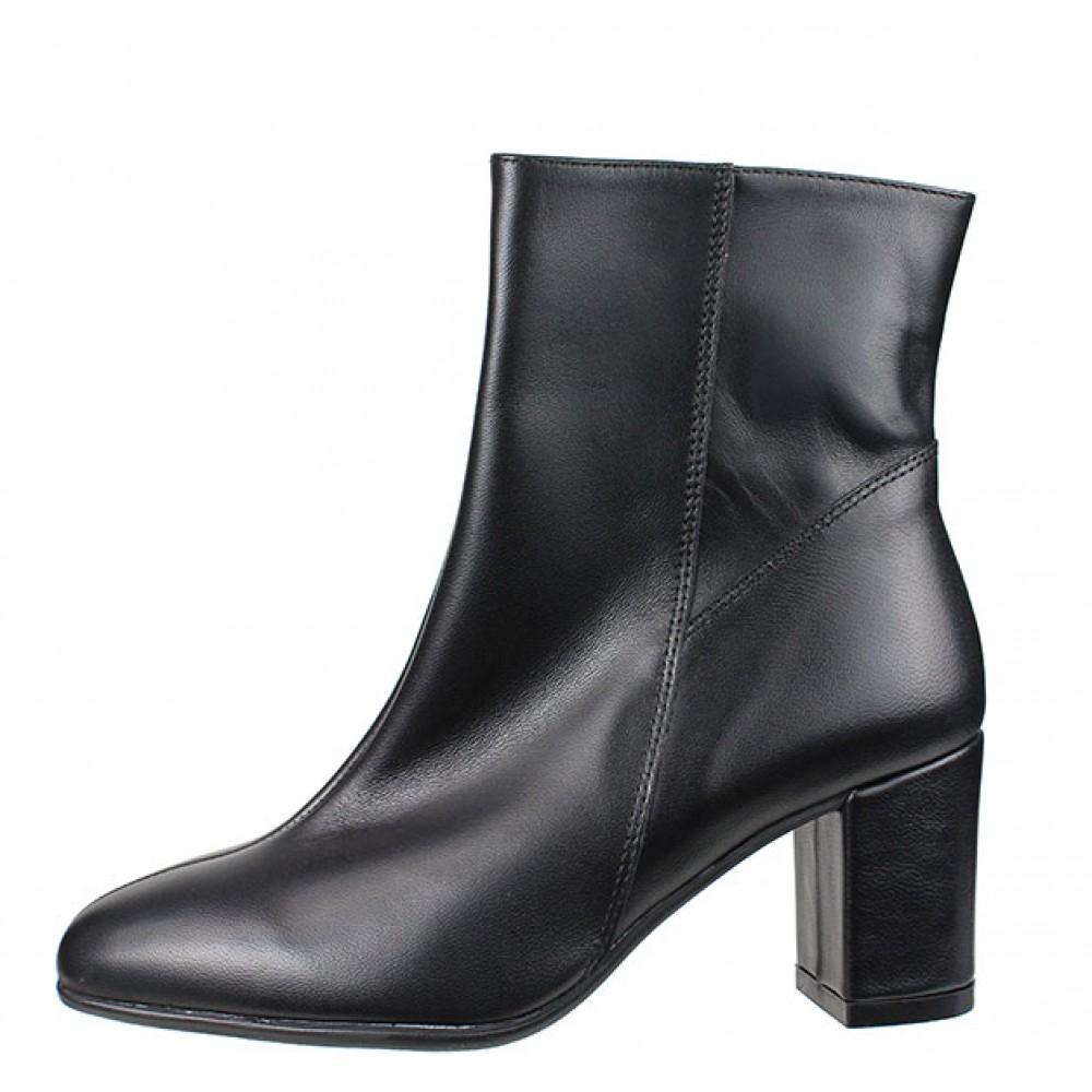 c78467a9ba9 -44% Γυναικείες Μπότες Ragazza 0653 Leather Black Γυναικεία Παπούτσια