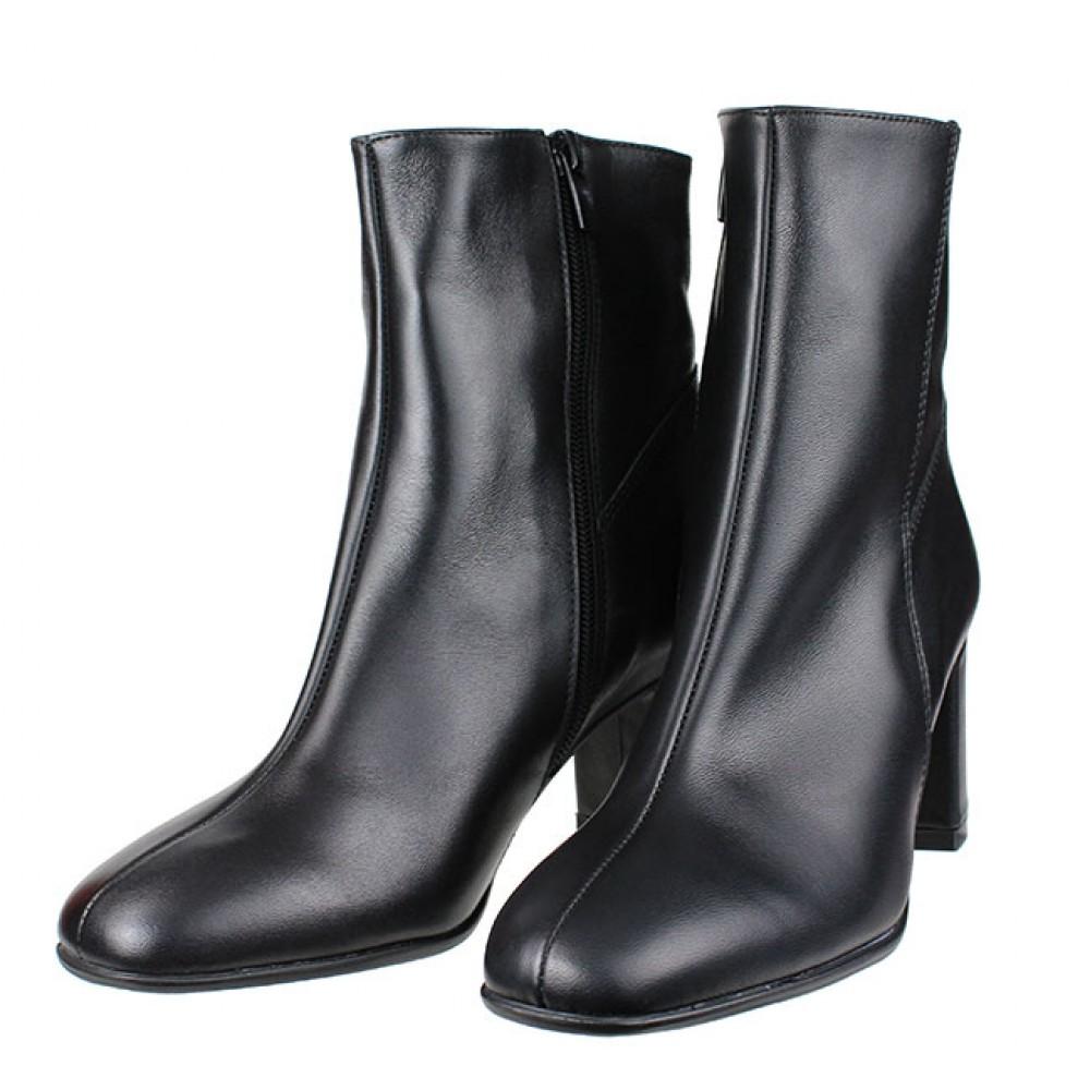 9e154696748 ... Γυναικείες Μπότες Ragazza 0653 Leather Black Γυναικεία Παπούτσια