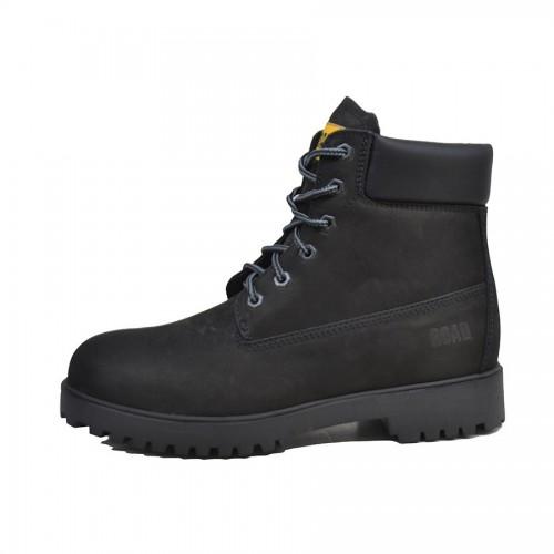 668f54cd3ffe Ανδρικά Μποτάκια Ορειβασίας On The Road 0565 Leather Nubuck Black Ανδρικά  Παπούτσια