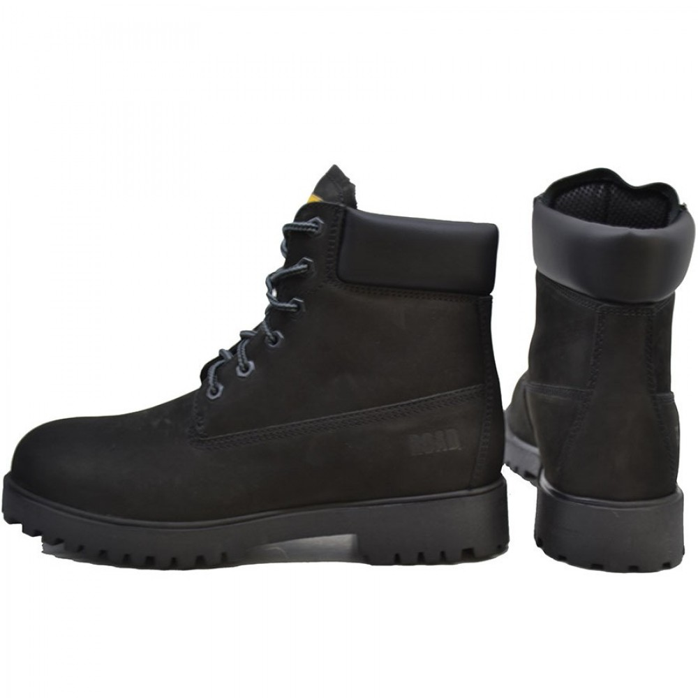3acd947948f ... Ανδρικά Μποτάκια Ορειβασίας On The Road 0565 Leather Nubuck Black  Ανδρικά Παπούτσια ...