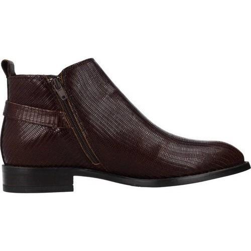 Γυναικεία Μποτάκια Alpe 4312 65 04 Leather Brandy Γυναικεία Παπούτσια