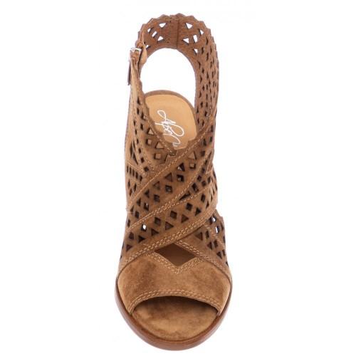 Γυναικεία Πέδιλα Alpe 4611 11 01 Leather Castori Cuero Νέες Παραλαβές