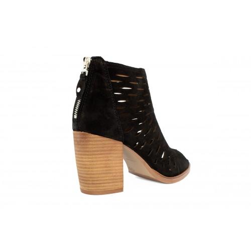 Γυναικεία Πέδιλα Alpe 4615 11 05 Leather Castori Black Νέες Παραλαβές