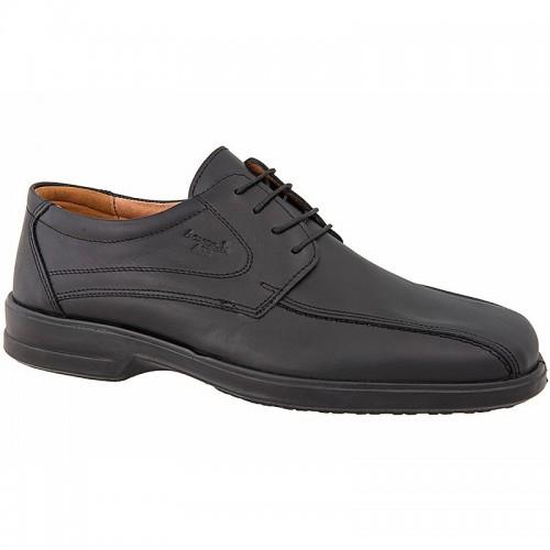 16c6739cb04 Ανδρικά Casual Δετά Παπούτσια BOXER 13757 Leather Black Νέες Παραλαβές
