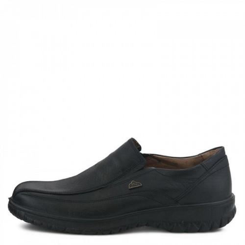 Ανδρικά Μοκασίνια Casual BOXER 14722 Leather Black