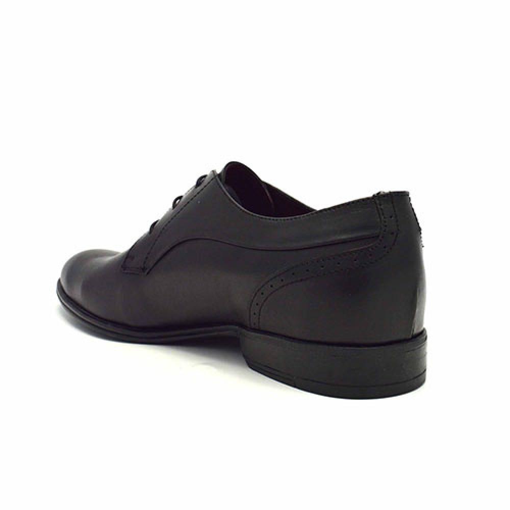 e2bded10eb5 ... Ανδρικά Δετά Σκαρπίνια Damiani 191 Leather Black Ανδρικά Παπούτσια