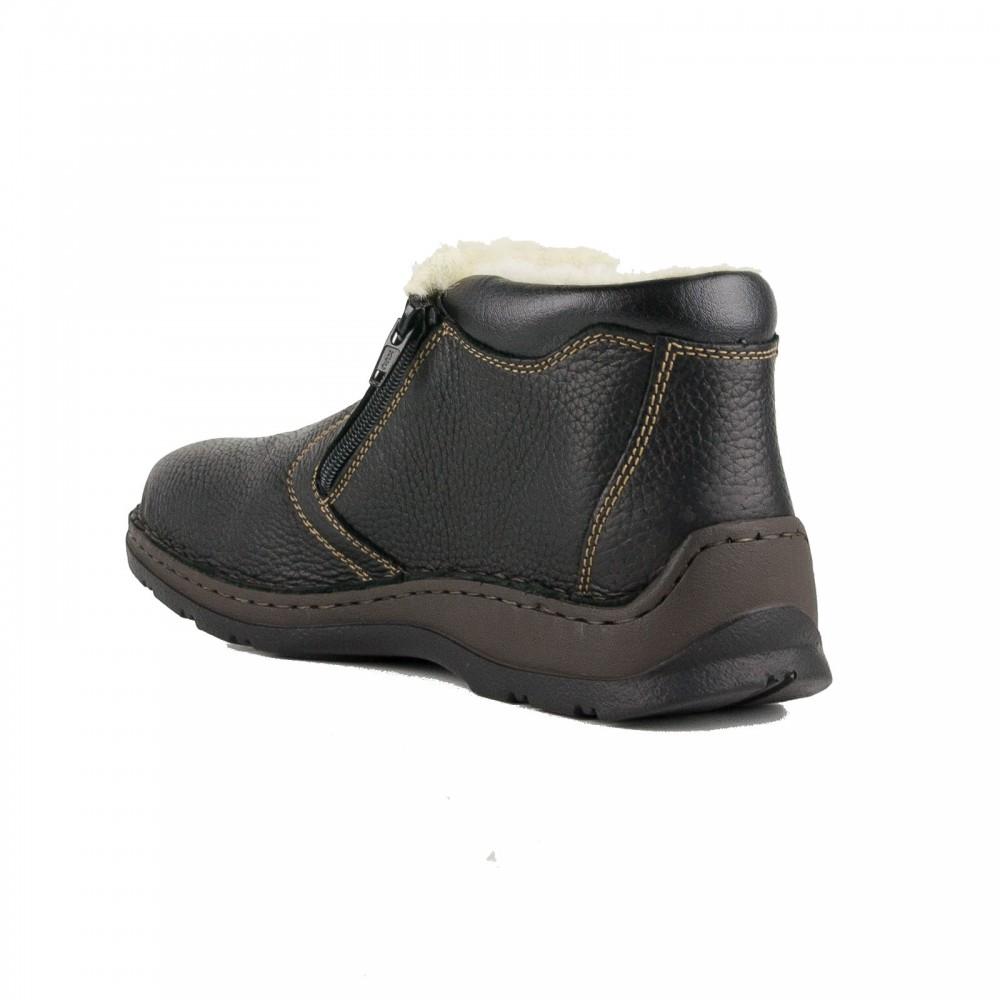 b62caf4d032 ... Ανδρικά Casual Μποτάκια Rieker 05391-00 Leather Black Ανδρικά Παπούτσια  ...