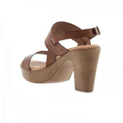 Γυναικεία Πέδιλα Issa Miel 5881 Leather Tampa Crocodile Γυναικεία Παπούτσια