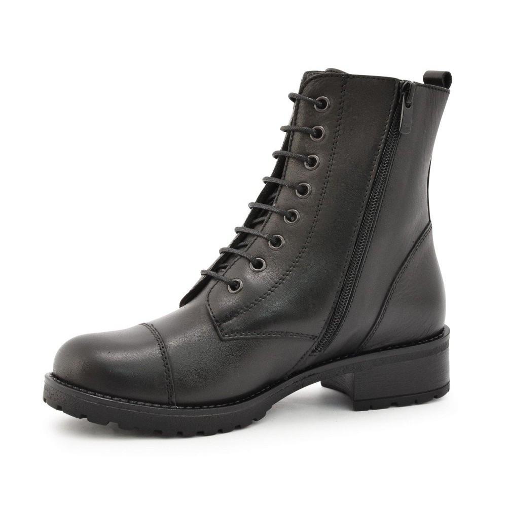 53e66f57298 ... Γυναικεία Casual Αρβυλάκια Μποτάκια Ragazza 0266 Leather Black Γυναικεία  Παπούτσια ...