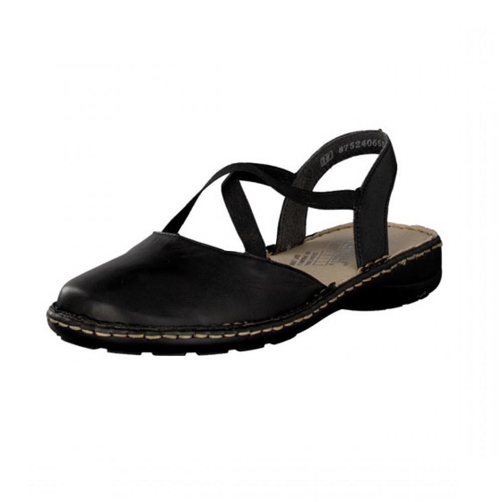 b19dbeda607 Γυναικεία Casual Παπούτσια Rieker 64871 Leather Black