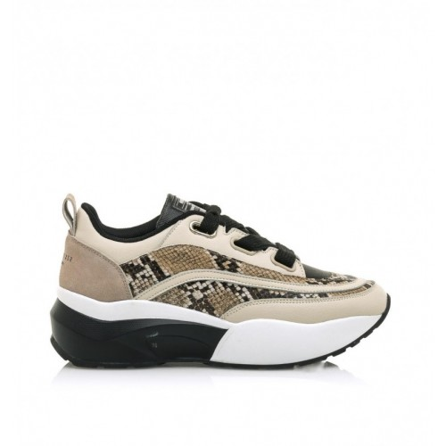 ac5f6330040 Γυναικεία Δετά Sneakers Sixtyseven 79823 Leather Beige Snide Natural Γυναικεία  Παπούτσια