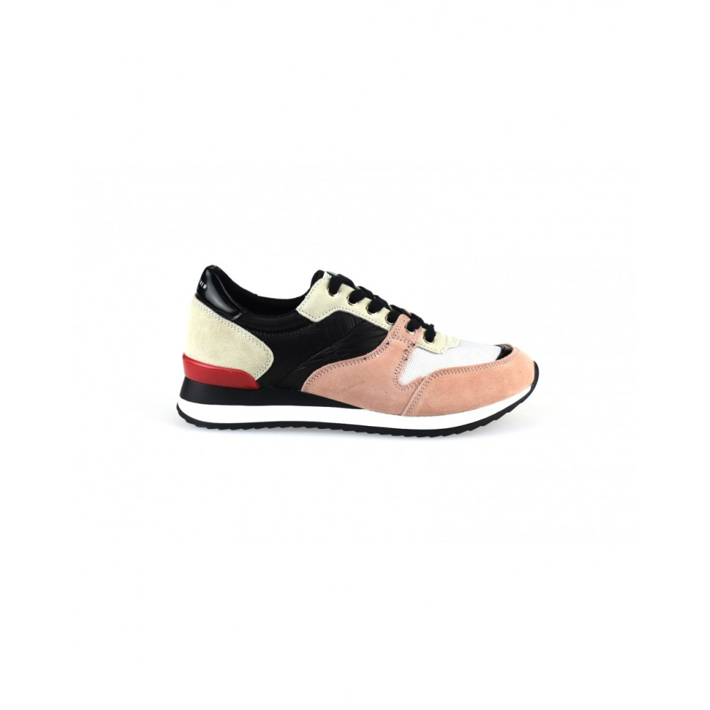 7f194221c9c -35% Γυναικεία Casual Sneakers Sixtyseven 79784 Leather Suede Textile Nylus Pink  Black Γυναικεία Παπούτσια