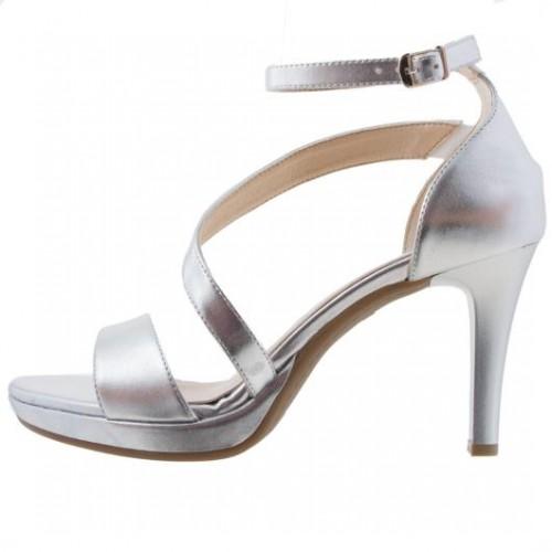 Γυναικεία Πέδιλα Ragazza 0932 Eco Leather Silver